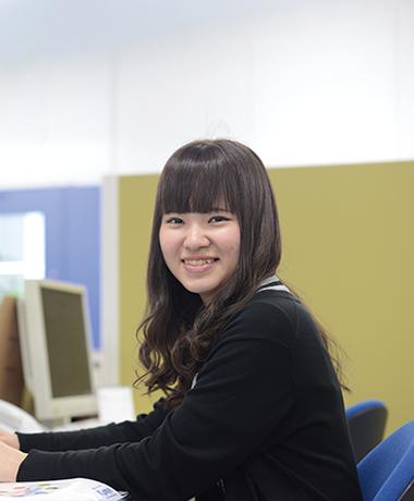 田中 陽菜「人が優しく、働きやすい。<br /> 出来ることが増えていく<br /> 喜びを感じています。」