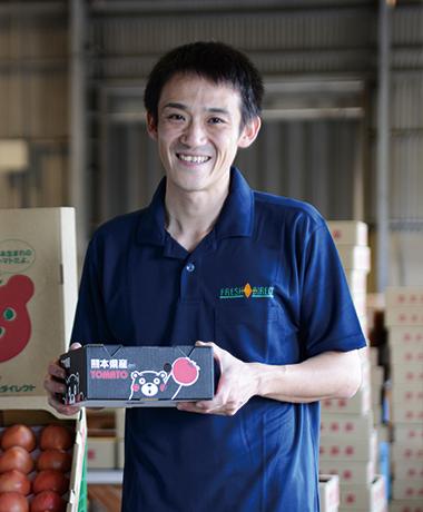 亀山 昌明「生産者のみなさんに<br /> 1円でも多く返すこと。<br /> 考え方はシンプルです。」