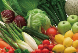 安心安全の国産果実・野菜